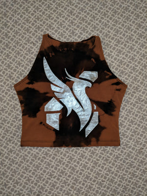 Illenium/Excision Combo- Bleached Crop Top