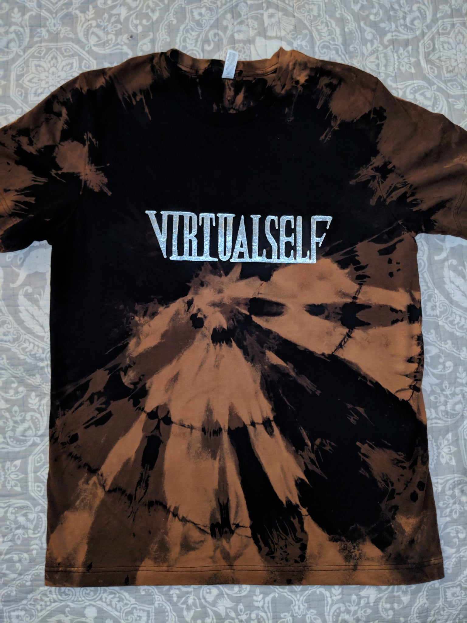 Virtual Self- Bleached Shirt