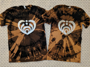 Bassnectar Couples Shirts- Bleached