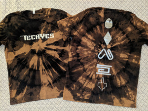 TechYes- Bleached Shirt