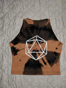 Odesza- Bleached Crop Top