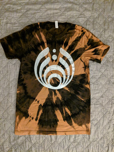 Bassnectar- Herb Inhalator 808- Bleached Shirt