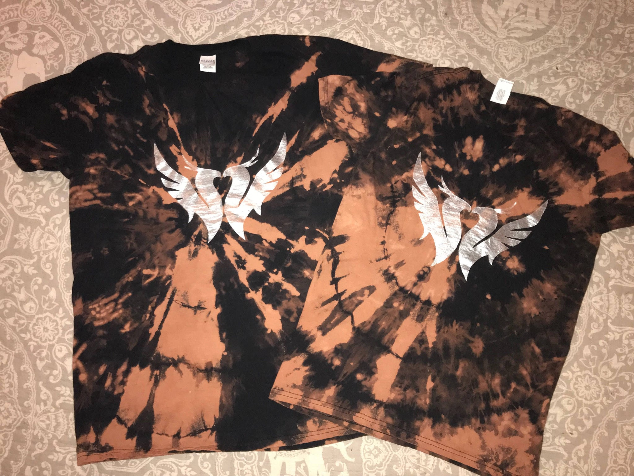 Illenium Couples Shirts- Bleached