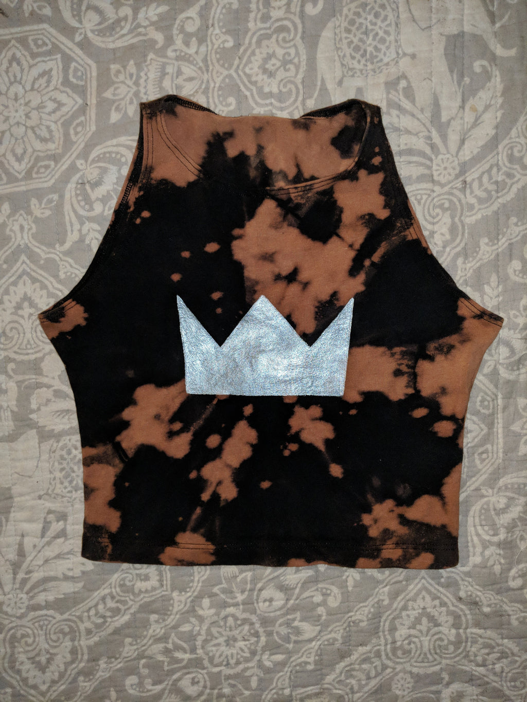 Louis the Child- Bleached Crop Top