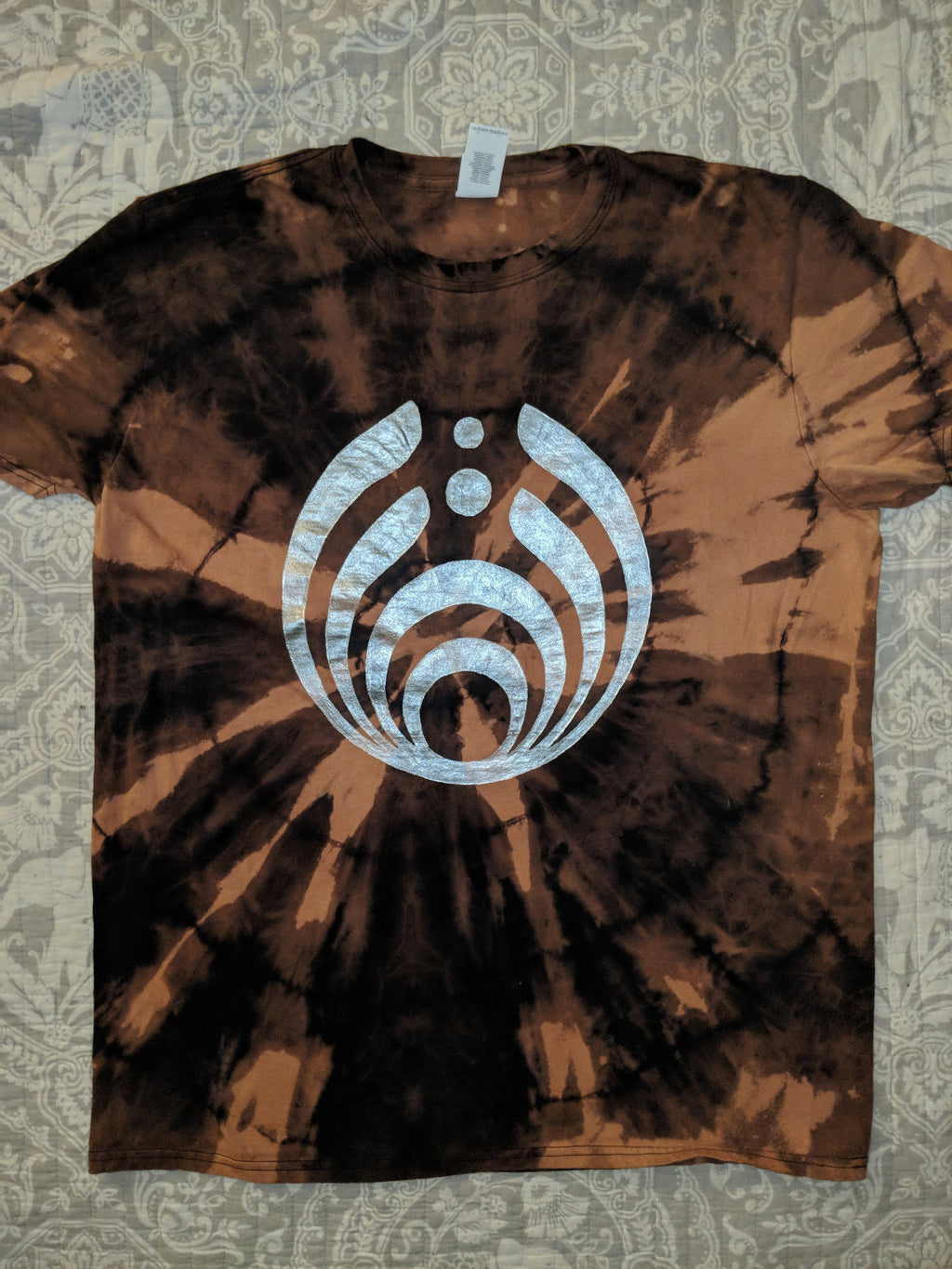 Bassnectar- Music is the Drug- Bleached Shirt