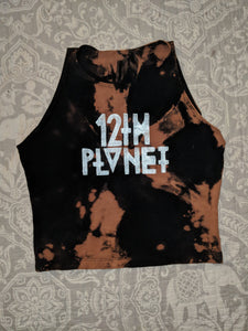 12th Planet- Bleached Crop Top