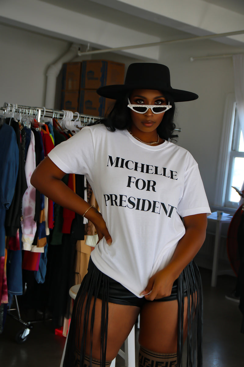Michelle For President Tee