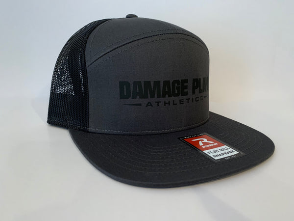 Damage Plan Athletics 7-Panel trucker SnapBack
