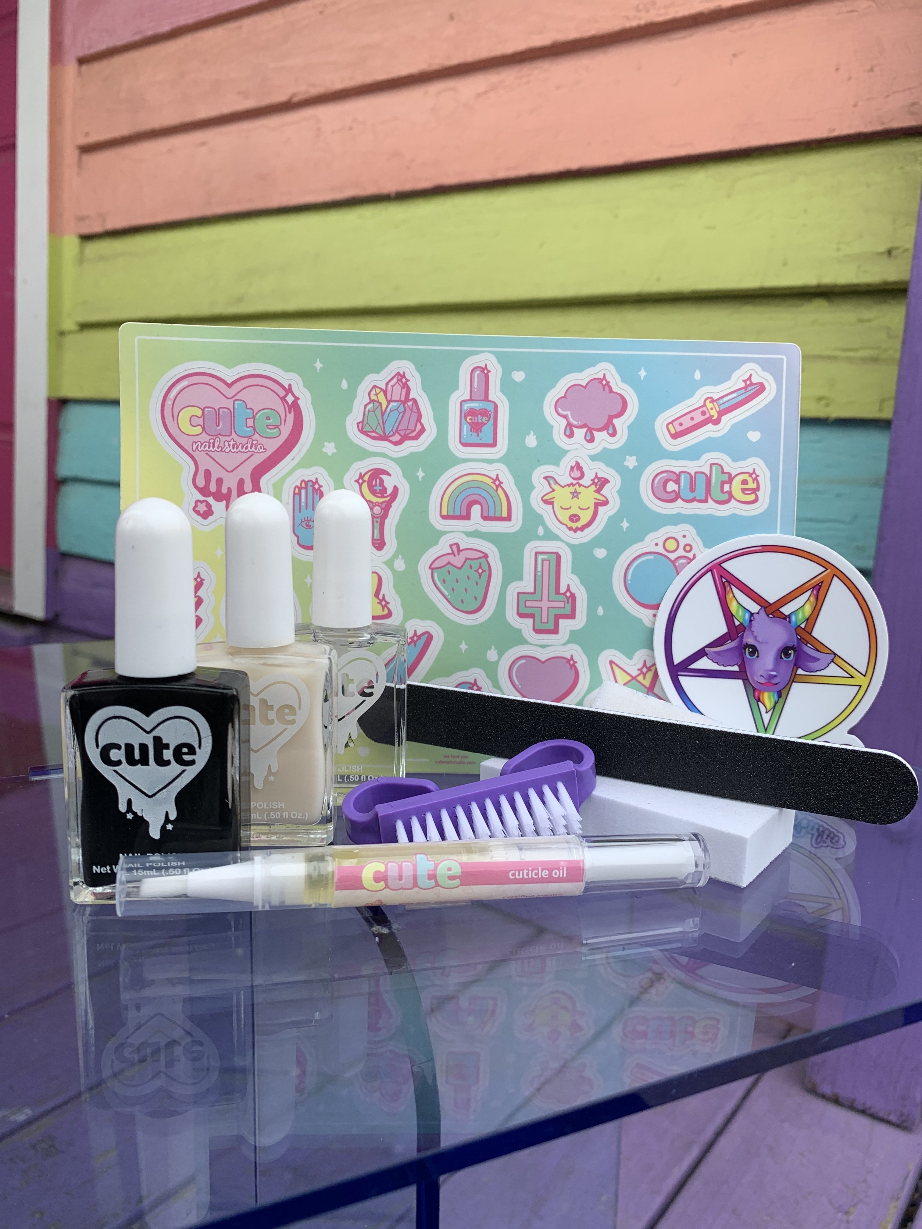 At Home Mani Kit