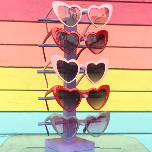 Plastic Heart Sunglasses