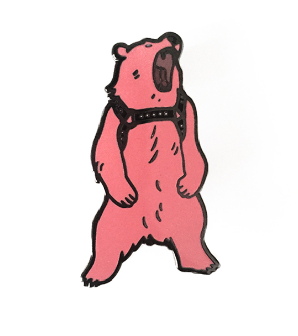 daddy bear pin