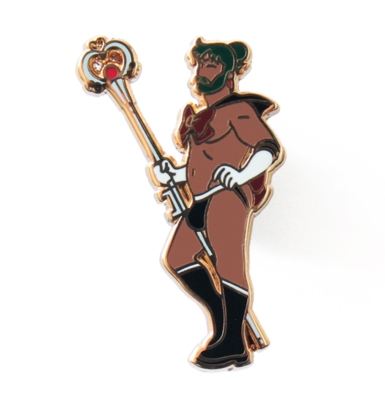 sailor pluto pin