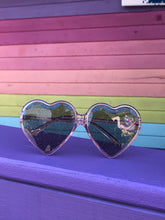 Load image into Gallery viewer, Glitter Heart Sunglasses