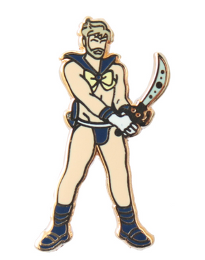 Load image into Gallery viewer, sailor uranus pin