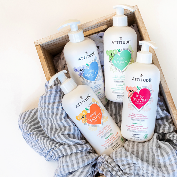 baby leaves™ 2-in-1 シャンプー&ボディウォッシュ 473mL