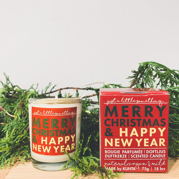 JUST A LITTLE SOMETHING マッサージキャンドル「Merry Christmas & Happy New year」90mL