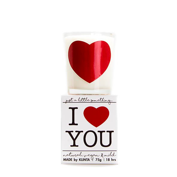 "JUST A LITTLE SOMETHING マッサージキャンドル ""I LOVE YOU""90ml"