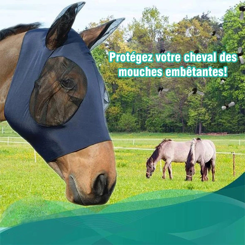 Masque Equine Anti-Fly Mesh