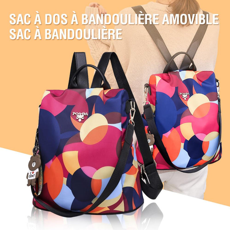 Sac à dos multifonctionnel Cool Retro