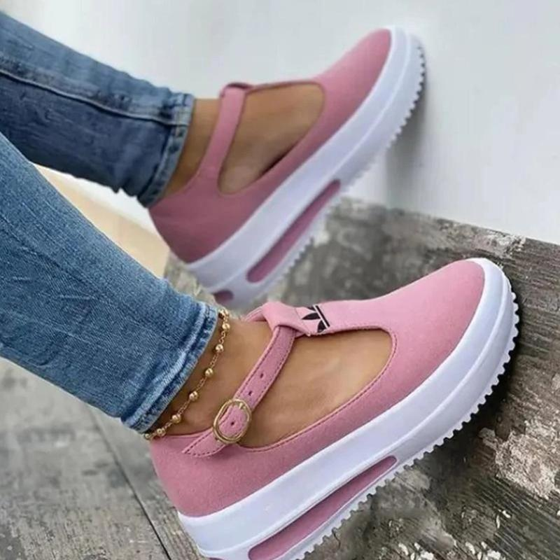 Chaussures Loafers à Bout Rond pour Femmes