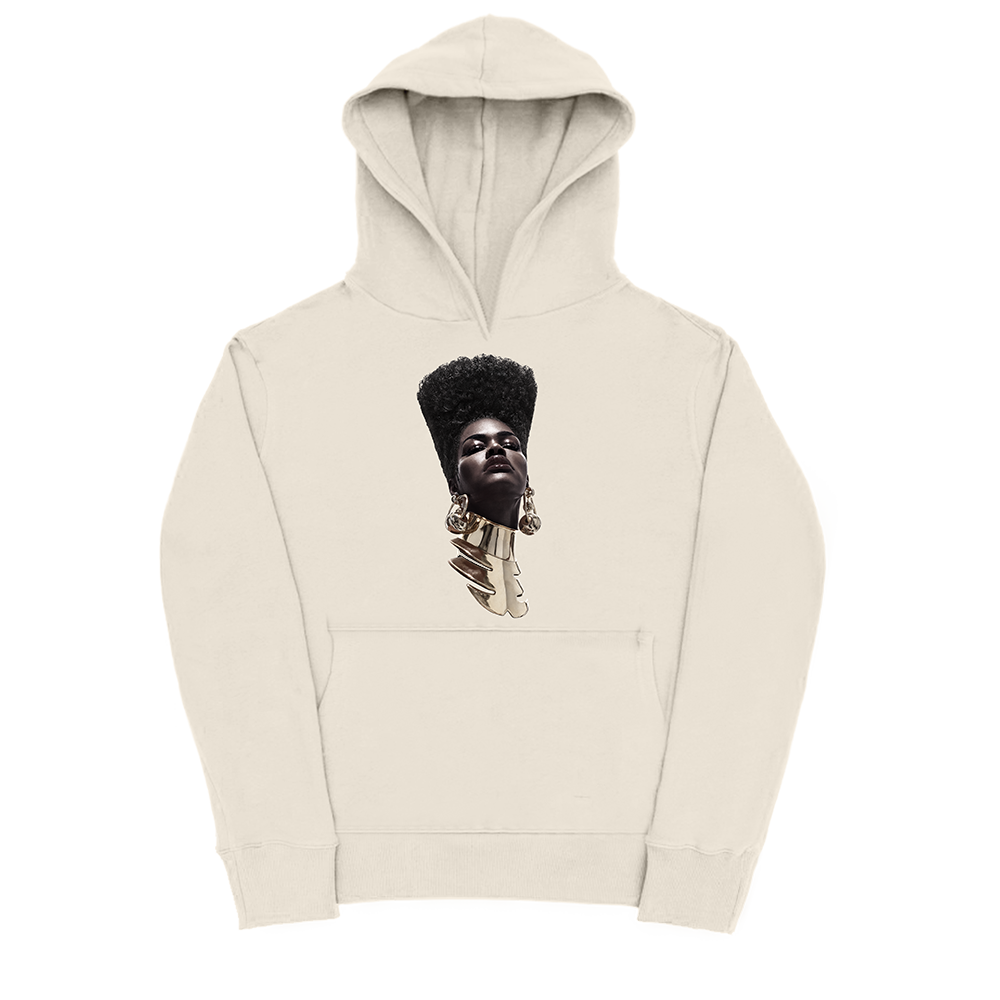 Teyana Head Natural Hoodie + Digital Album