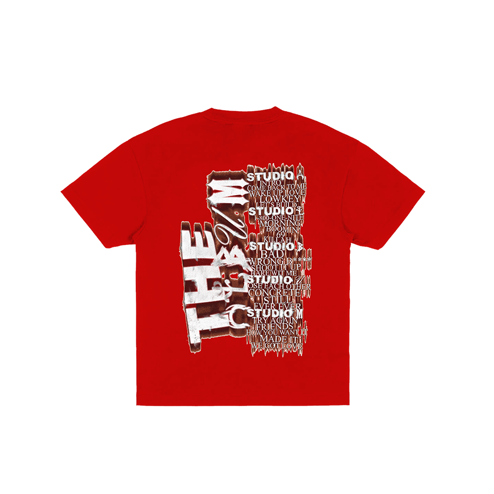 Teyana Head Red Tee + Digital Album