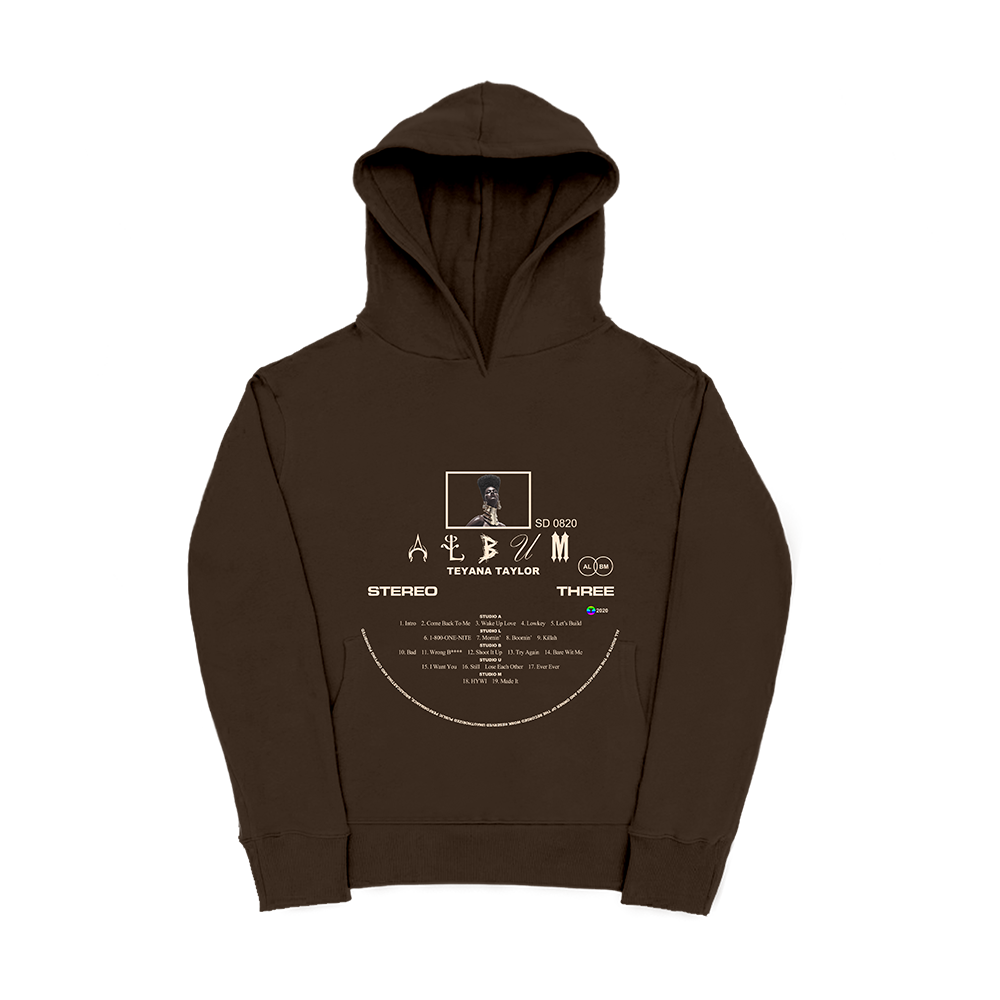 Vinyl Record Brown Hoodie + Digital Album