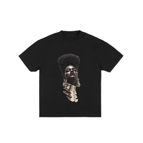 Teyana Head Black Tee