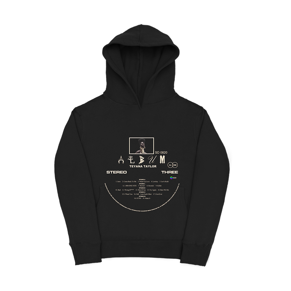 Vinyl Record Black Hoodie + Digital Album