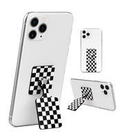 KickBack Phone Stand & Grip (Checker Black)