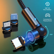 Rotatable Magnetic Phone Charger