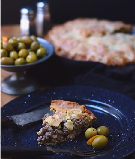 Low Carb Tourtiere (Canadian Pork Pie)