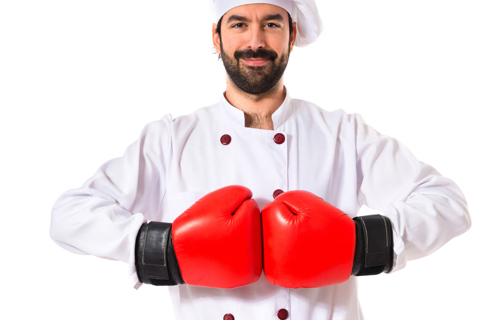 Chef Ready For Battle