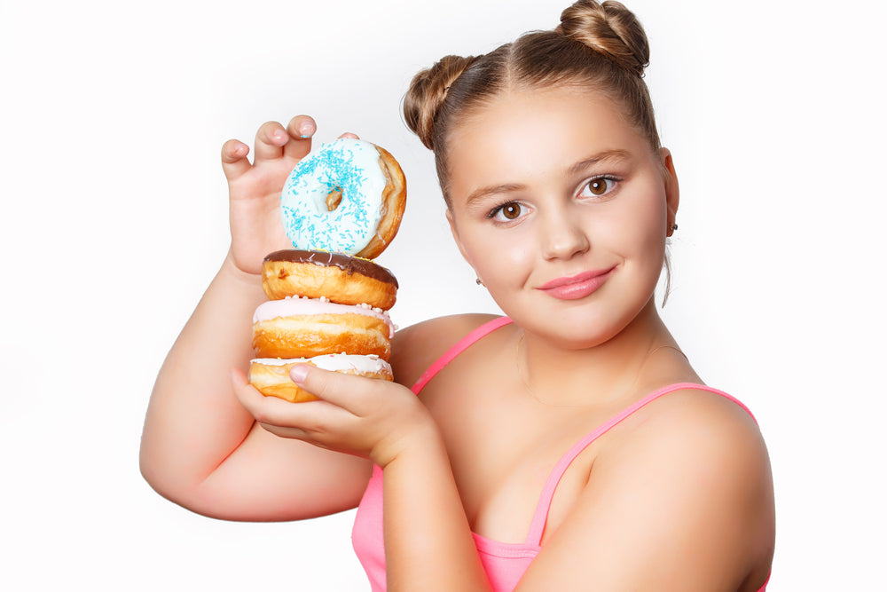 Poor diet and lack of physical activity contributes to childhood obesity.