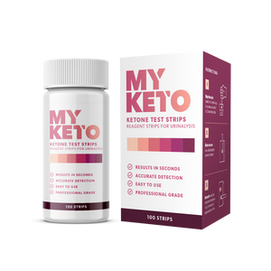 Ketone Urinalysis Testing Strips - 100 Keto Test Strips