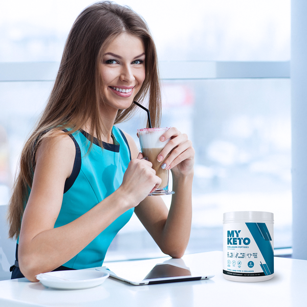 Collagen Peptides - Hydrolyzed Bovine (Unflavored) - Myketo