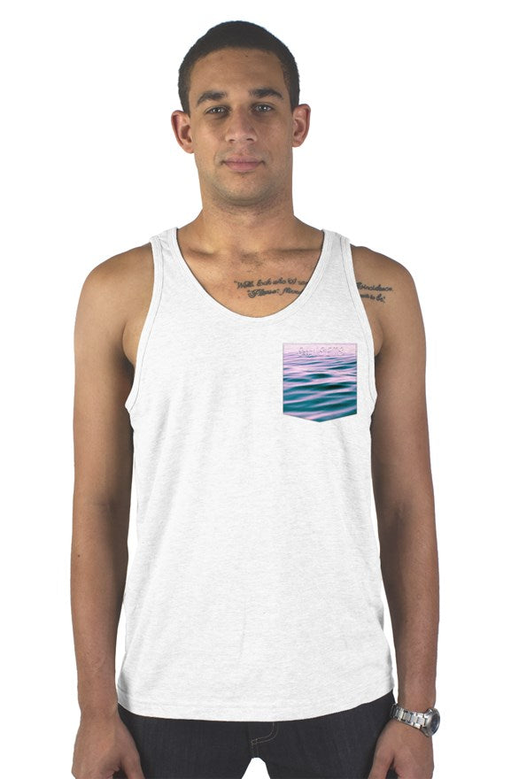 Newport Ave Pocket Tank Ghost Logo
