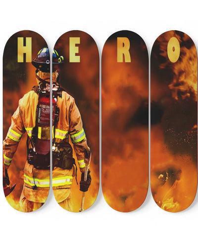 Firefighter Heros - Canvas 5