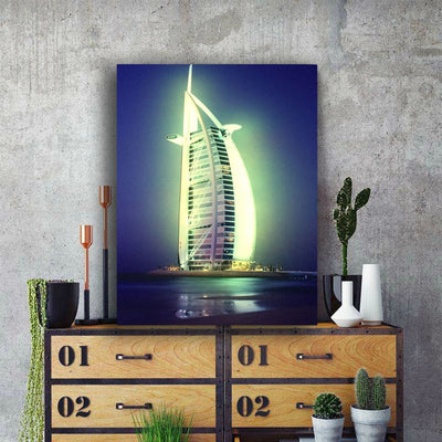 Burj Al Arab Illuminate At Night LED & Remote