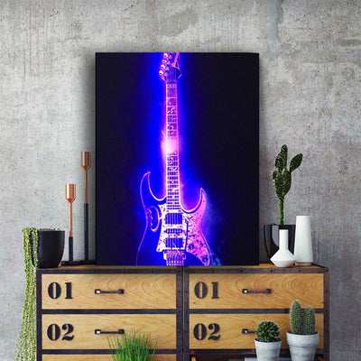 Rock Illuminated Guitar LED & Remote
