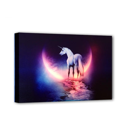 Unicorn Fantasy With Moon LED & Remote