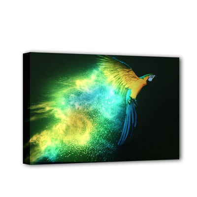 Flying Illuminated Parrot LED & Canvas