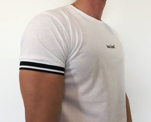 Cuffed T-shirt White