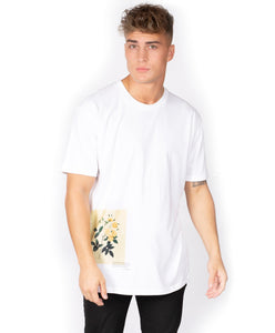 Relaxed Fit T-Shirt- White