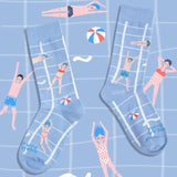 Chaussettes art Steetwear Happy Socks hautes
