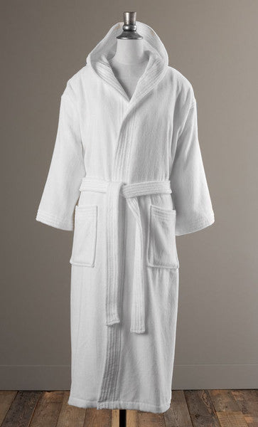 The Sage Bathrobe - Hooded Velour