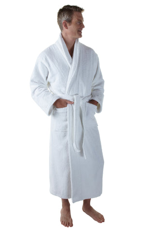 The Resort Bathrobe - Hooded Terry Cloth