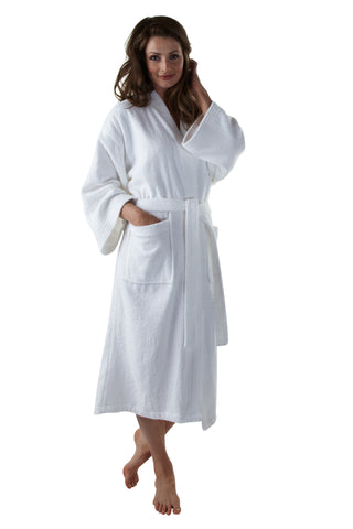 The Princess Kimono Bathrobe - Terry Cloth