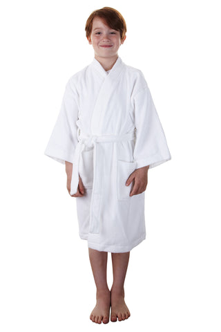 The Retreat Bathrobe - Soft Knit Waffle
