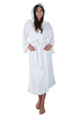 The Newport Bathrobe - Navy Velour